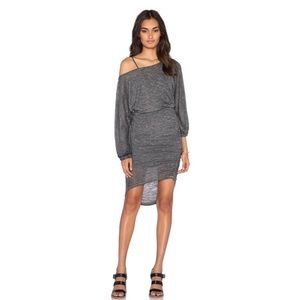 Free People | TIDEPOOL MINI DRESS IN BLACK Large